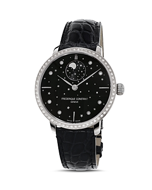 Frederique Constant Slimline Moonphase Stars Watch