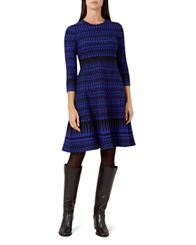 HOBBS LONDON - Joelle Geometric Dress