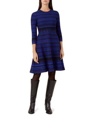 Hobbs London Joelle Geometric Dress
