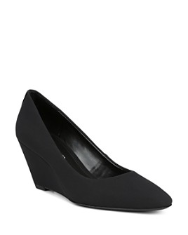 Donald Pliner - Women's Jeri Stretch Wedge Pumps
