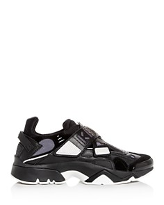 Kenzo - Women's Sonic Crisscross Strap Low-Top Sneakers