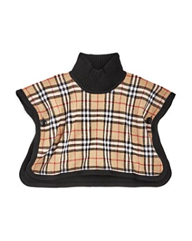 Burberry - Girls' Mini Beatrix Reversible Wool Cape - Baby