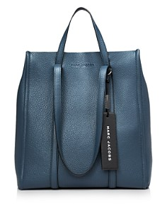 MARC JACOBS - Tag Large Leather Tote