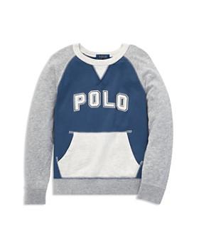 543ebc4e2a3e Ralph Lauren - Boys  Cotton French Terry Sweatshirt - Little Kid ...