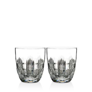 Waterford Double Old Fashioned Glass, Set of 2