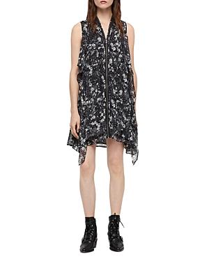 Allsaints Jayda Lisk Zip-Front Dress