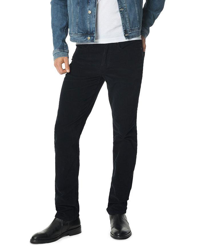 6cdb8b1f Joe's Jeans Brixton Straight Slim Fit Corduroy Pants in Midnight ...