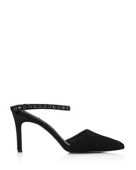 JAGGAR - Women's Opulent Pointed Toe Studded Pumps