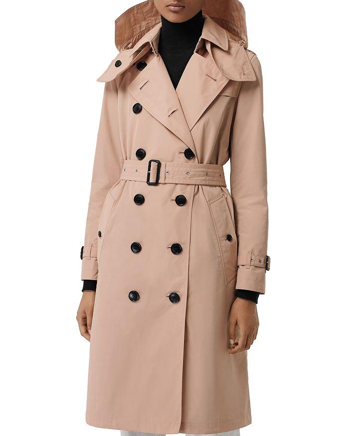 Burberry - Kensington Hooded Trench Coat