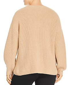 Eileen Fisher Plus - Cashmere Blouson Sleeve Sweater