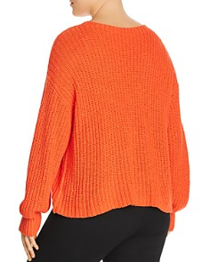 Eileen Fisher Plus - Ribbed Sweater