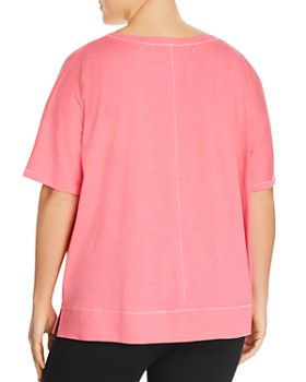 Eileen Fisher Plus - Seamed Organic Cotton Top