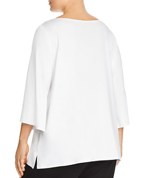 Eileen Fisher Plus - Slit Sleeve Top