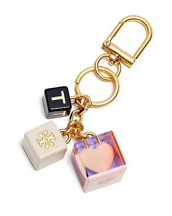 c99a88b059 Tory Burch Logo Heart Key Fob | Bloomingdale's
