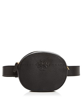 Tory Burch - McGraw Round Leather Convertible Crossbody