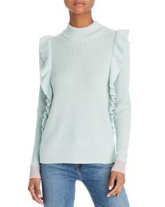 Splendid - x Margherita Amico Ruffled Sweater