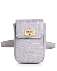 Street Level - Croc-Embossed Belt Bag