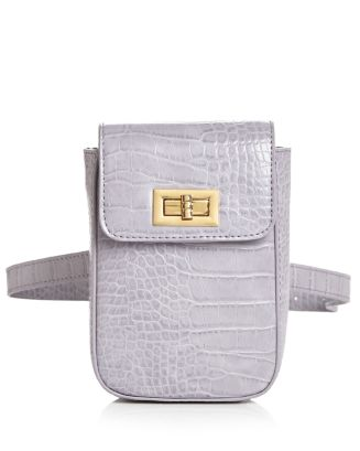 Croc Embossed Belt Bag by Street Level