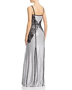 Tadashi Shoji - Embellished Sequined Gown