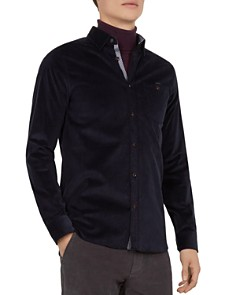 Ted Baker - Cord Slim Fit Button-Down Shirt