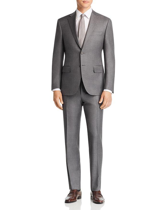 Canali - Sienna Sharkskin Regular Fit Suit