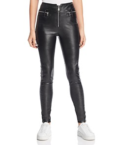 Tiger Mist - Lennon Faux Leather Skinny Pants