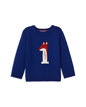 Jacadi Boys Fox Intarsia Sweater  Baby