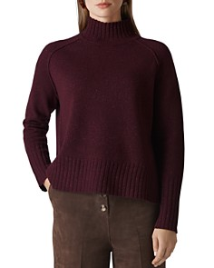 Whistles - Funnel Neck Sparkle Sweater