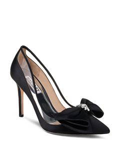 7cc9e5fd644b kate spade new york Women s Viena Embellished Bow Pointed-Toe Pumps ...