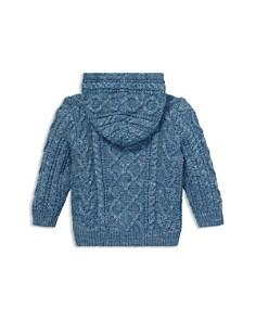 Ralph Lauren - Boys' Aran Cotton Hooded Sweater - Baby