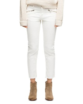Zadig & Voltaire - Ava Ankle Straight Jeans in Judo