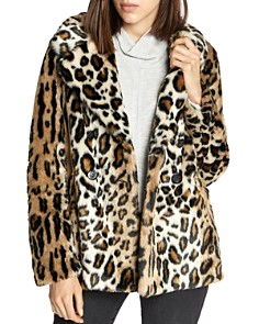 Sanctuary - Seeing Spots Faux-Fur Jacket