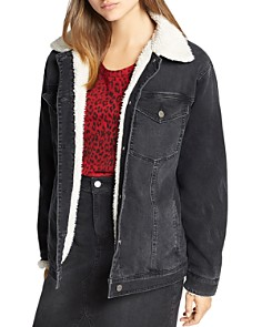 Sanctuary - Sherpa Lined Denim Jacket