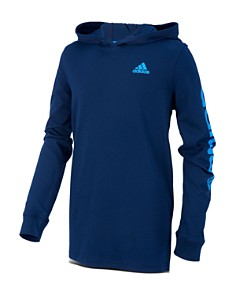 Adidas - Boys' Cotton Logo Hoodie - Little Kid, Big Kid