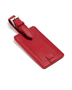 Campo Marzio - Faux Leather Luggage Tag