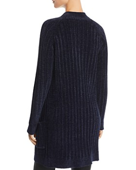 BB DAKOTA - Favorite Game Rib-Knit Chenille Cardigan