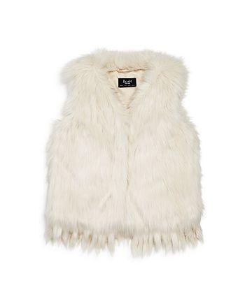 Bardot Junior - Girls' Faux-Fur Vest - Little Kid, Big Kid