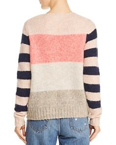 Rebecca Taylor - Striped Color-Block Sweater