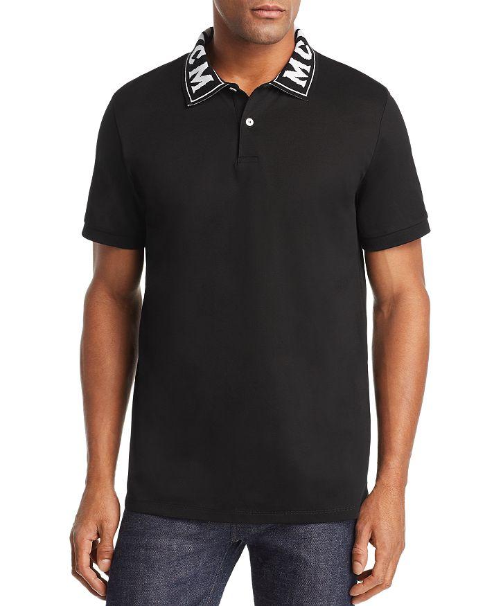 MCM - Logo-Collar Piqué Polo Shirt