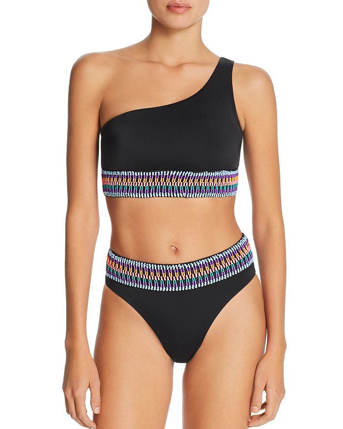 Peixoto - Zoni 2 One-Shoulder Bikini Top & High-Waist Bikini Bottom