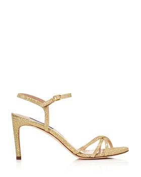 Stuart Weitzman - Women's Starla Metallic High-Heel Sandals