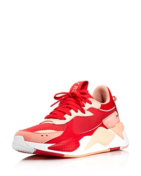 f7b3f5bb797 PUMA - Women s RS Toys Leather   Mesh Low Top Sneakers ...