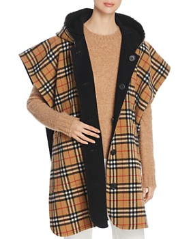 Burberry - Hopefield Reversible Hooded Cape