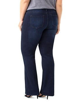Liverpool Plus - Lucy Bootcut Jeans in Dunmore Dark
