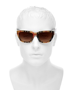 Burberry - Men's Vintage Check Square Sunglasses, 54 mm