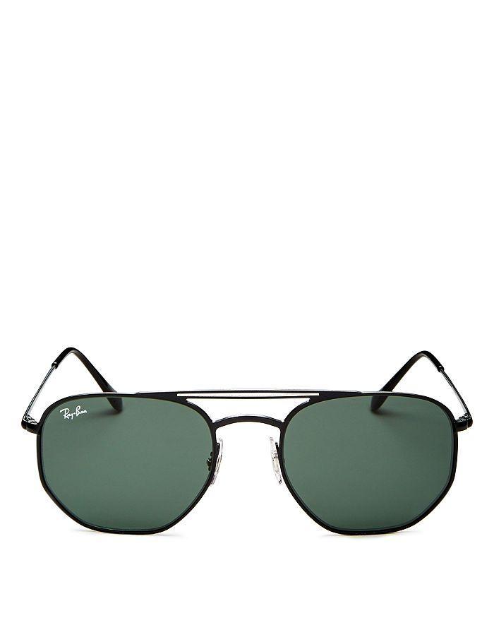 Ray-Ban - Unisex Brow Bar Aviator Sunglasses, 54mm