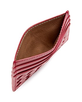 Bottega Veneta - Woven Leather Card Case