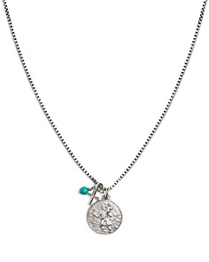 Tateossian - St. Christopher Medallion Sterling Silver Necklace