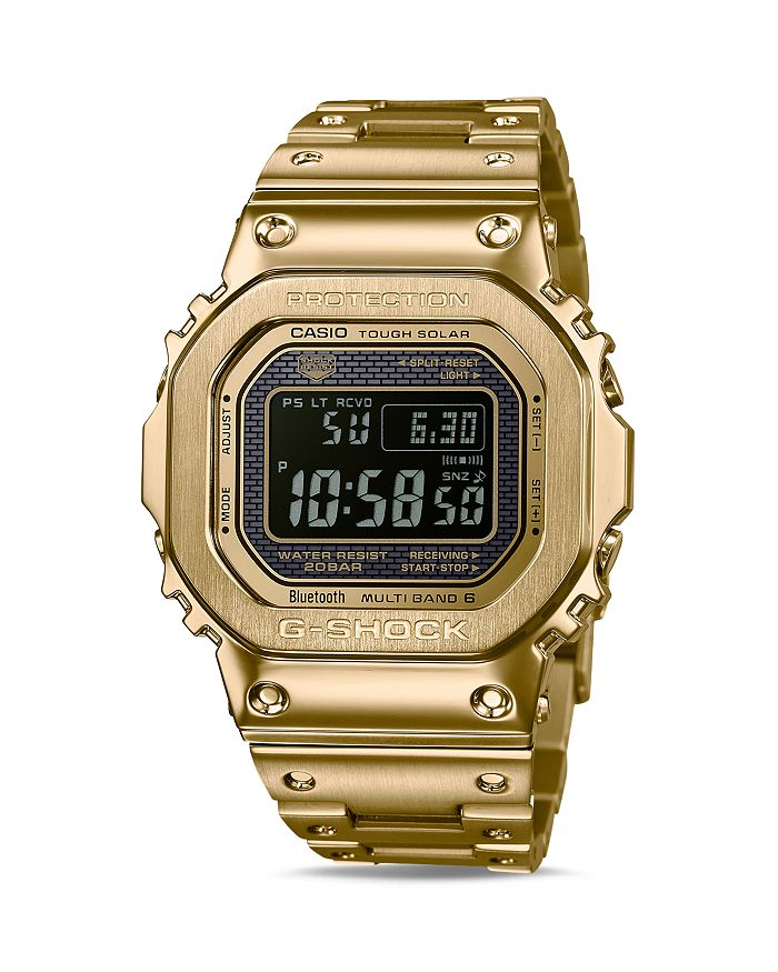 G-Shock - Masterpiece Gold-Tone Watch, 42.8mm x 48.9mm
