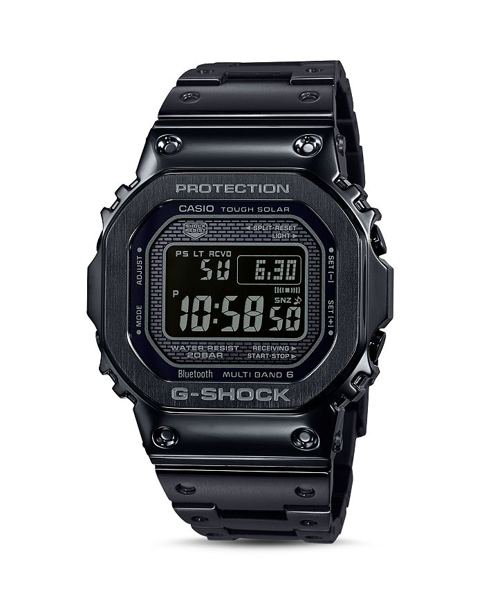 G-Shock - Masterpiece Black Watch, 42.8mm x 48.9mm